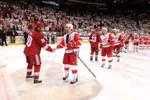 Mercifully, the Red Wings made sure we wouldn't have to endure any more Phoenix Coyotes' stories