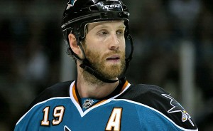 Sharks' underachiever Joe Thornton