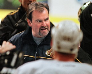 Pat Burns as Bruins' head coach