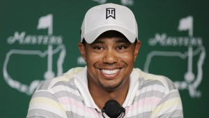 Tiger Woods addresses Masters media