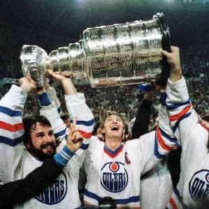 Paul Coffey, Wayne Gretzky, '84 Cup