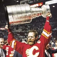 Flames' captain Lanny McDonald, '89 Cup