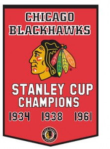 Chicago Blackhawks' Stanley Cup banner