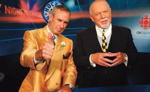 HNIC's Ron MacLean, Don Cherry