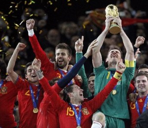 Spain wins 2010 World Cup