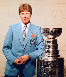 The day the Edmonton Oilers won their first Stanley Cup