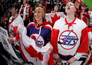 Winnipeg Jets' fans