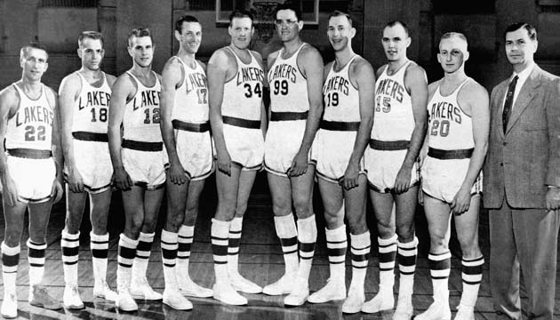 1954 NBA Champion Minneapolis Lakers