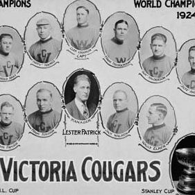 1925 Stanley Cup champion Victoria Cougars