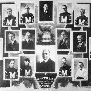 1926 Stanley Cup champion Montreal Maroons