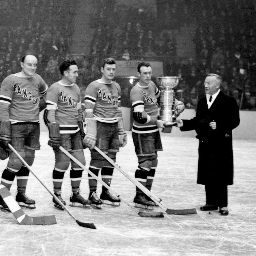 1933 Stanley Cup champion New York Rangers
