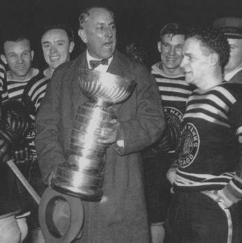 1934 Stanley Cup champion Chicago Black Hawks