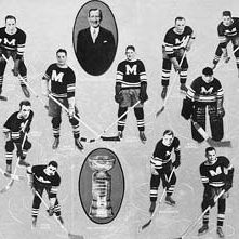 1935 Stanley Cup champion Montreal Maroons