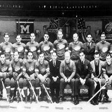 1937 Stanley Cup champion Detroit Red Wings