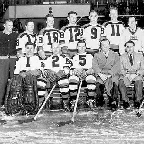 1939 Stanley Cup champion Boston Bruins