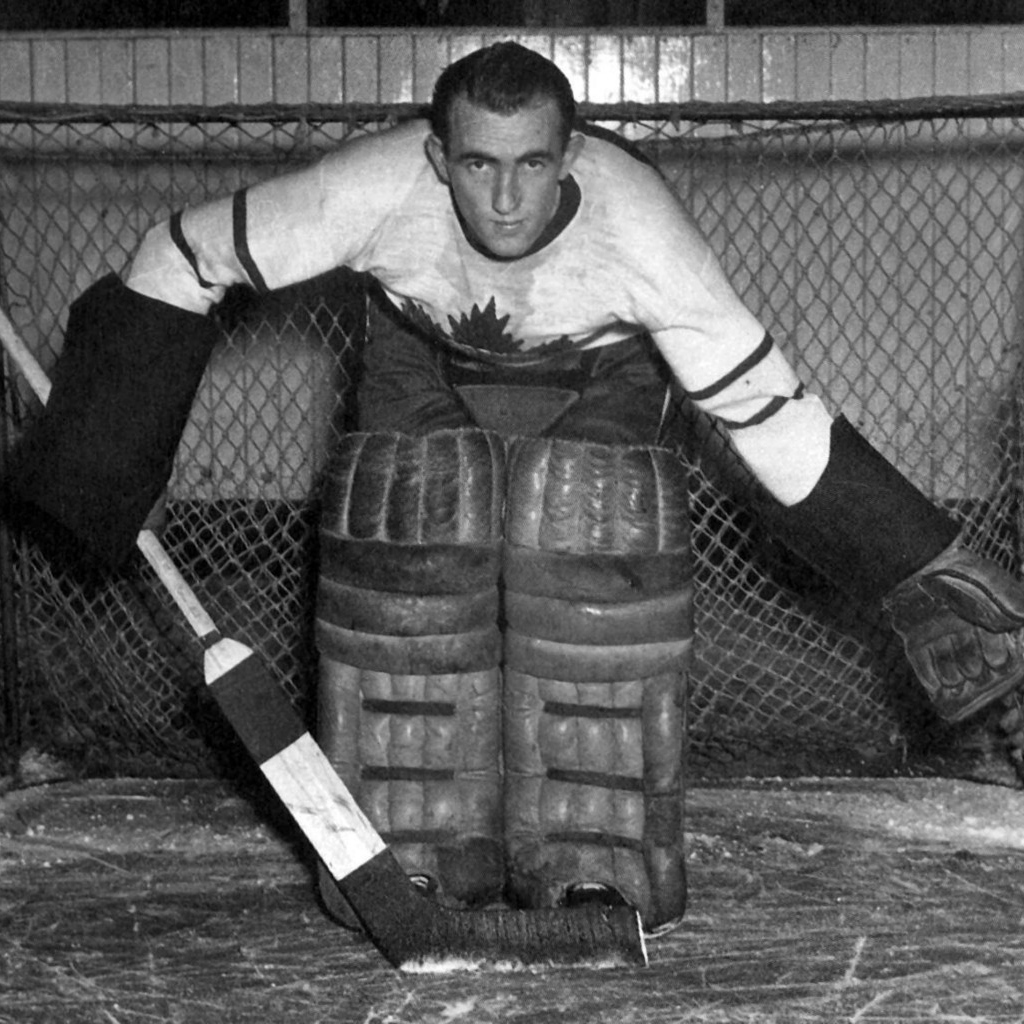 Maple Leafs' netminder Frank McCool strung together three consecutive shutouts in 1945 Stanley Cup Final