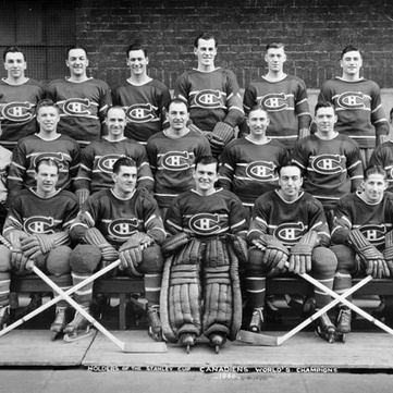 1946 Stanley Cup champion Montreal Canadiens