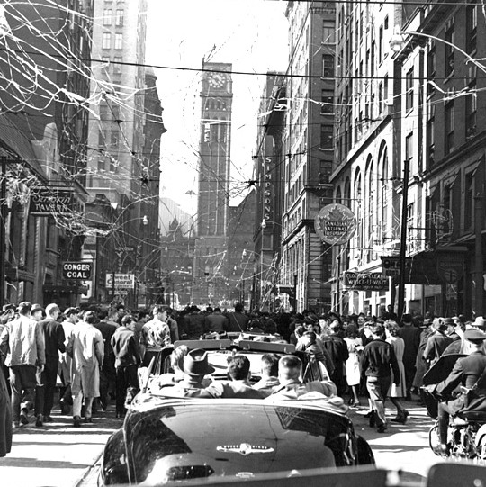 Toronto Maple Leafs' 1948 Stanley Cup parade