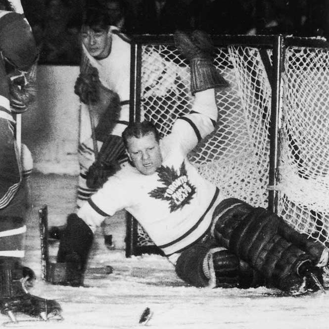 Goaltender Turk Broda led 1949 Toronto Maple Leafs to Stanley Cup