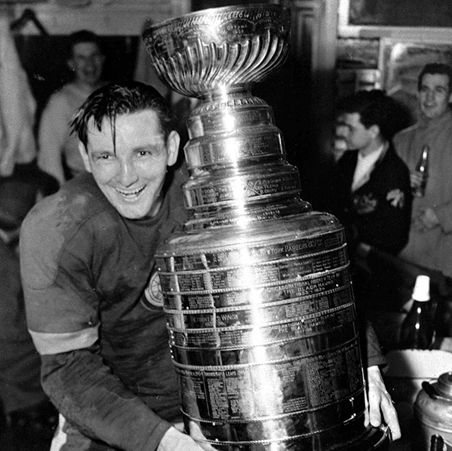 1950 Stanley Cup champion Detroit Red Wings