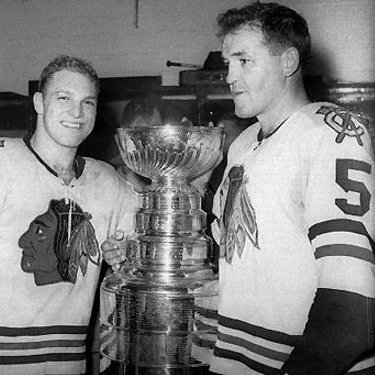 1961 Stanley Cup champion Chicago Black Hawks