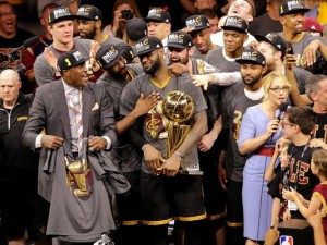 Cavaliers celebrate their first-ever NBA championship