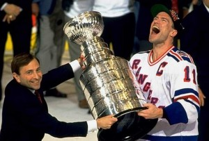 Mark Messier and 1994 Stanley Cup